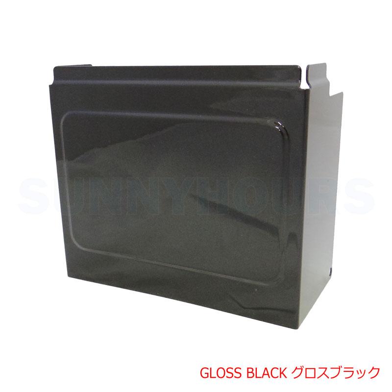 新製品【グロスブラック】バッテリーカバー サイドカバー ダイナ用スポーツスター用 66718-01