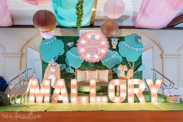 Mallory's Bohemian Woodland Themed Party – 1st Birthday