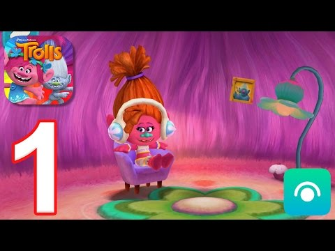 Trolls-Crazy-Party-Forest-Gameplay-Walkthrough-Part-1-Level-1-4-iOS-Android
