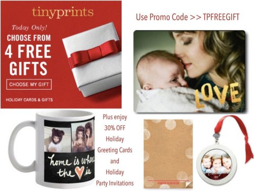 Medium Of Tiny Prints Christmas Cards