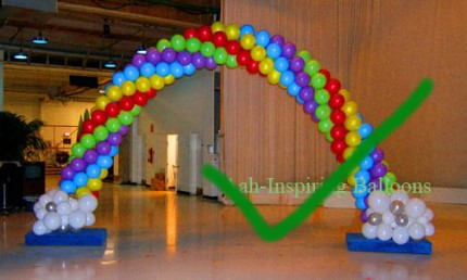 Balloon arch ideas balloon arches may seem outdated but they do have