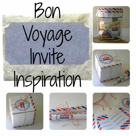Party ideas bon voyage party ideas