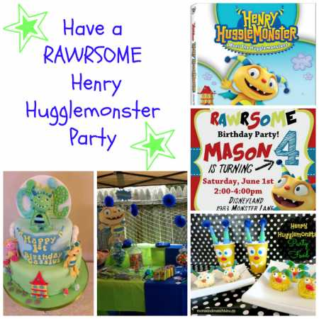 Henry-Hugglemonster-Party