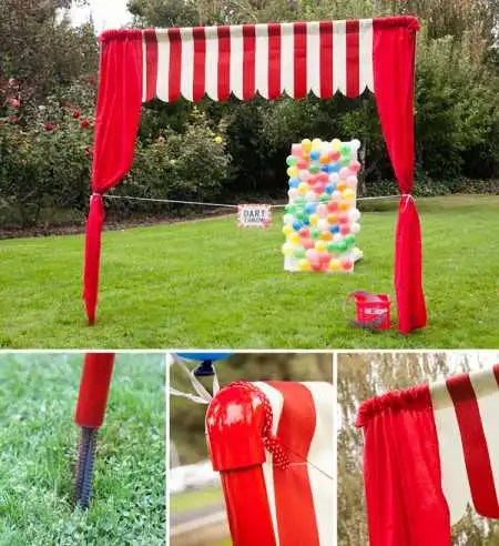 Diy Party Booth Frontage Party Ideas