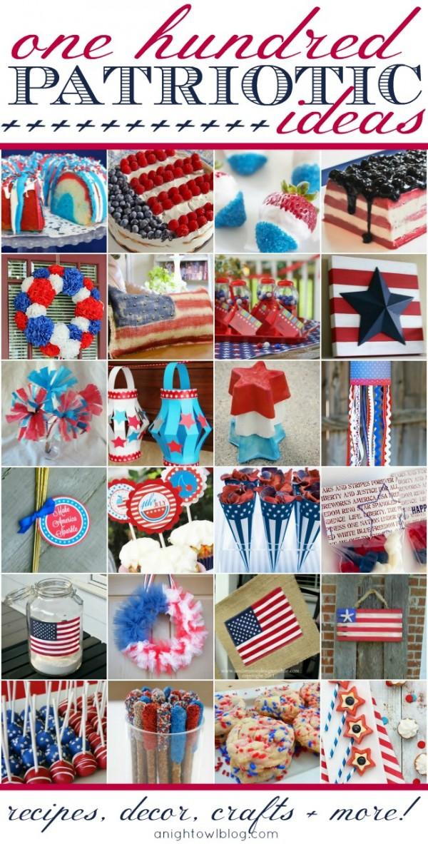 Crafts patterns diy and handmade ideas from craftgossip - Patriotic home decor ideas ...