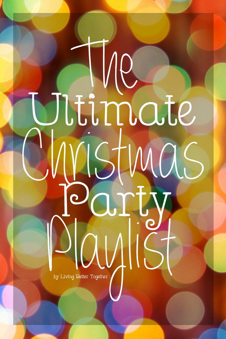 Christmas Party Playlist