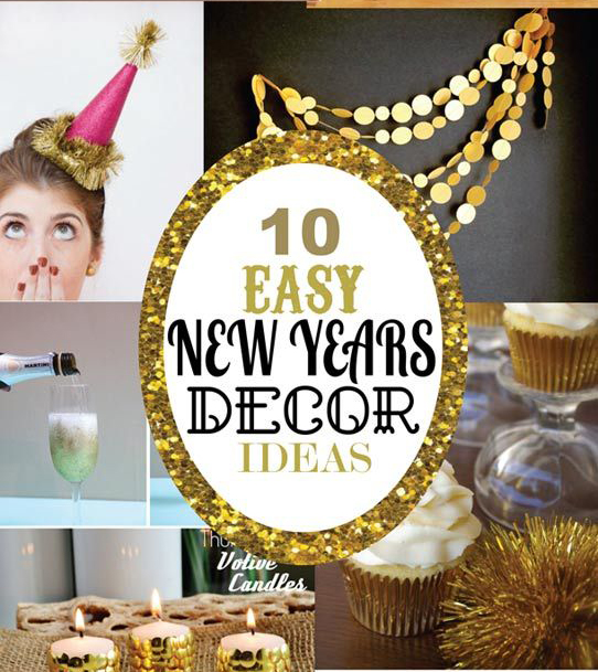 New Years Party Decor