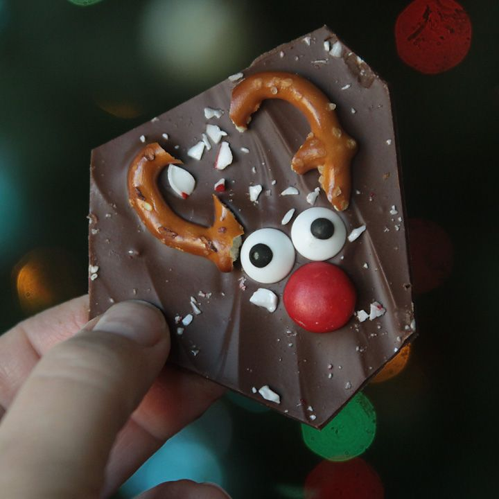 Reindeer Bark Is the Perfect Last-Minute Treat – Party Ideas