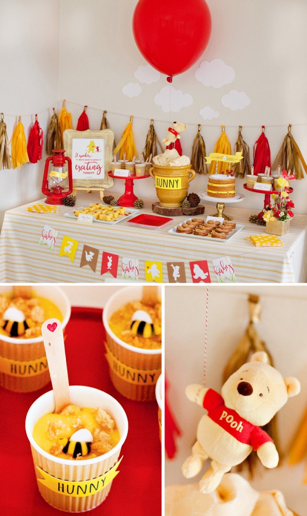Baby shower ideas winnie the pooh theme