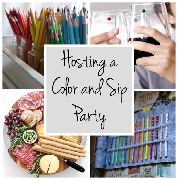 color-and-sip-party