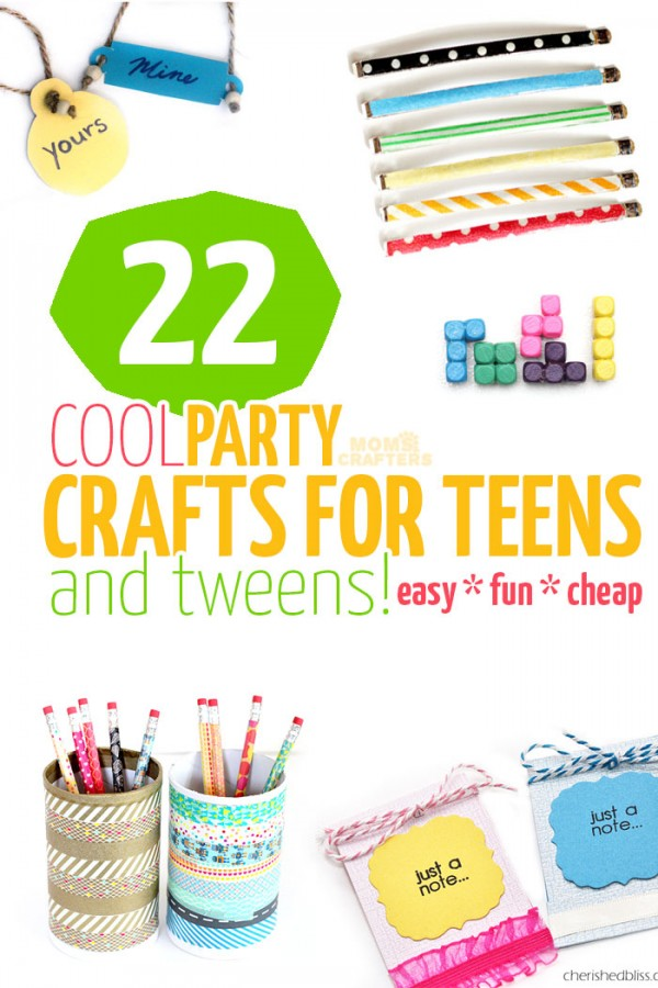 A Crafts For Teens And 16