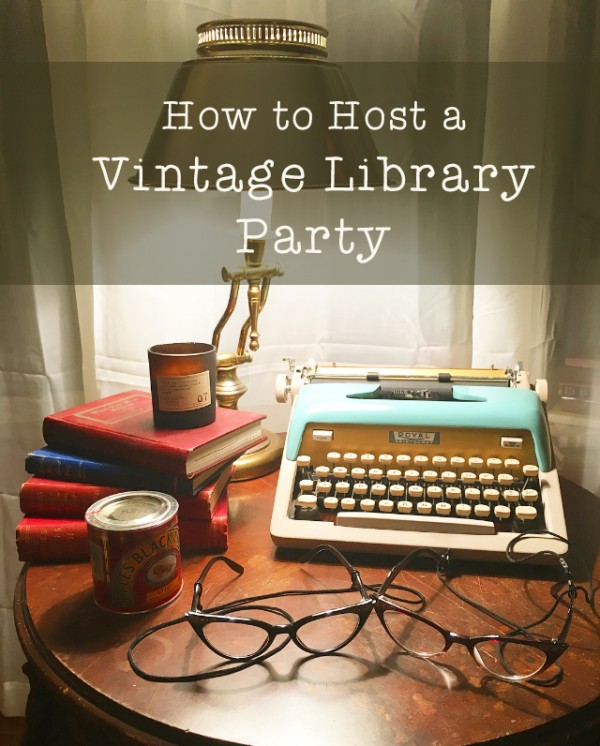 how-to-host-a-vintage-library-party