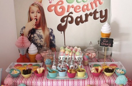 DIY Icecream party