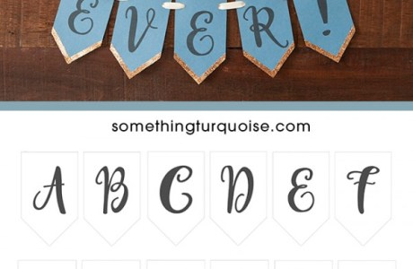 Free Printable Full Alphabet Banner