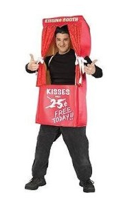 adult kissing booth costume