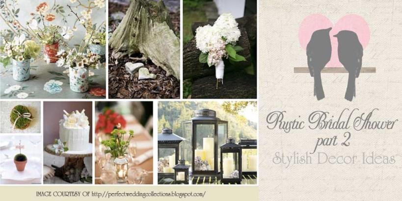 Rustic Bridal Shower Decor : DIY Decoration Ideas