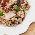Passagem Gastronômica - Risoto de Cogumelos com Lascas de Parmesão