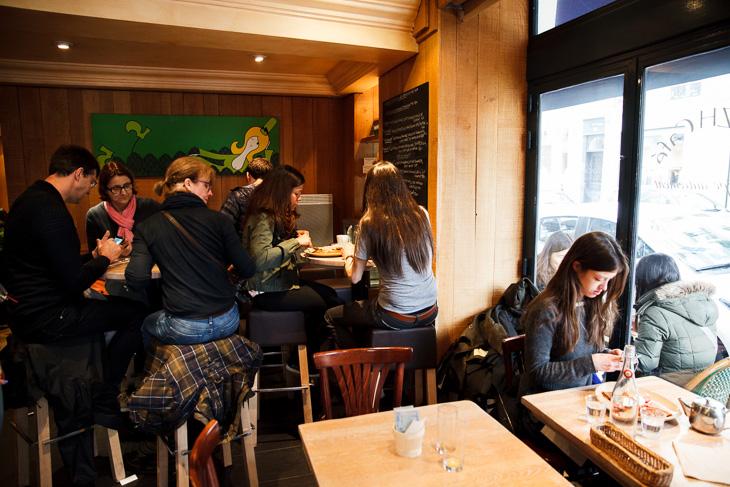 Passagem Gastronômica - Breizh Café - Paris