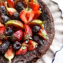 Passagem Gastronômica - Receita de Bolo de Chocolate Sem Farinha