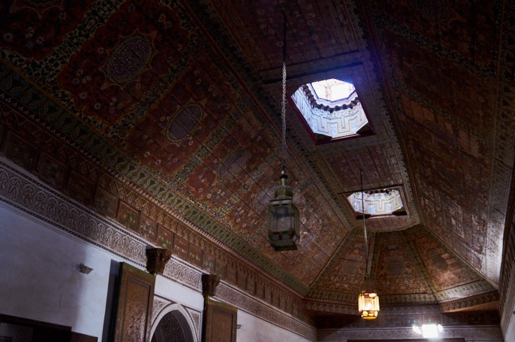 Passagem Gastronômica - Roteiro de Marrakech - Palais de la Bahia