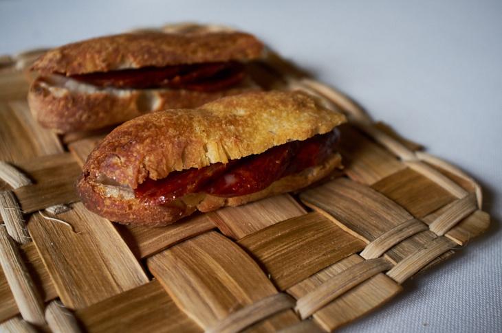 Passagem Gastronômica - Pão de Chorizo - Asador Etxebarri - San Sebastian