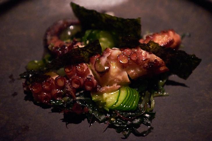 Passagem Gastronômica - Polvo - Restaurante Sosharu - Londres