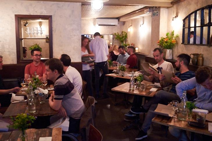 Passagem Gastronômica - Restaurante The Dairy - Londres
