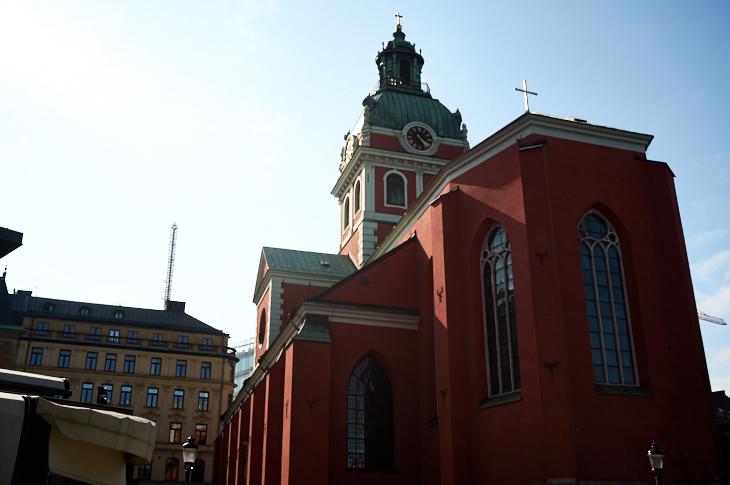 Passagem Gastronômica - St. Jacob's Church - Estocolmo