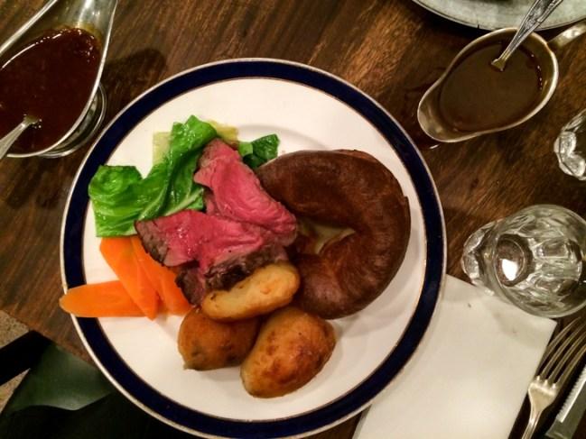 Passagem Gastronômica - Melhores Sunday Roasts em Londres