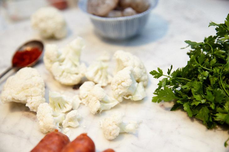 Passagem Gastronômica - Receita de Paella de Couve-Flor