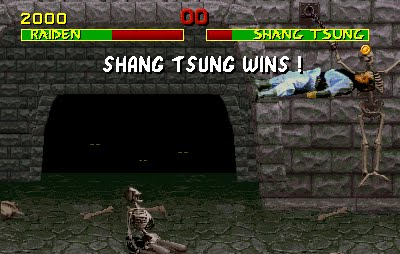 Shang Tsung's Fatality Glitch