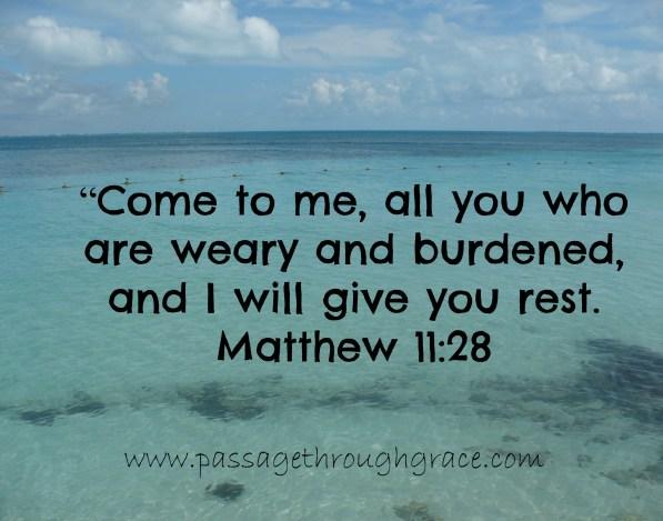 Matthew 11-28
