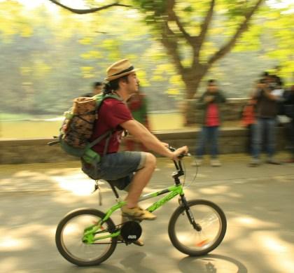 Pedalando em São Paulo: conheça dois roteiros verdes na zona sul
