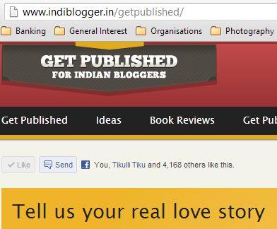 Get Published_indiblogger