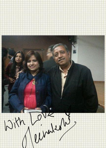 Meenakshi, another novelist, appreciated the S-memo feature!