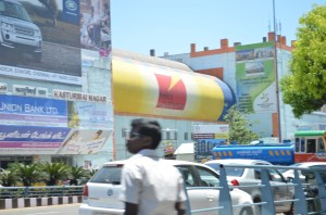 012_Yellow... golden yellow... all over Chennai!