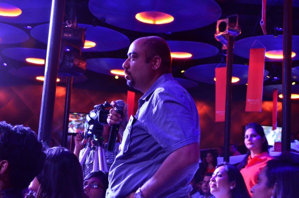 Bloggers from different genres were present... here is pawan Soni from 'The Food Freaks'