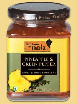 Pineapple & Green Pepper Conserve