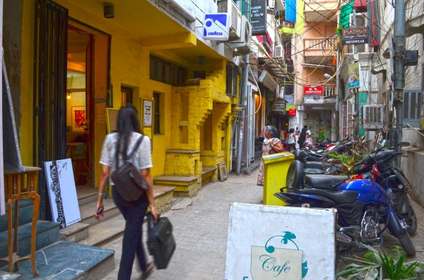 The lanes and bylanes of Hauz Khas Village have tradition meandering through modernity