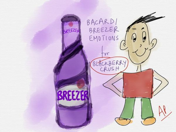 Bacardi Blackberry Crush
