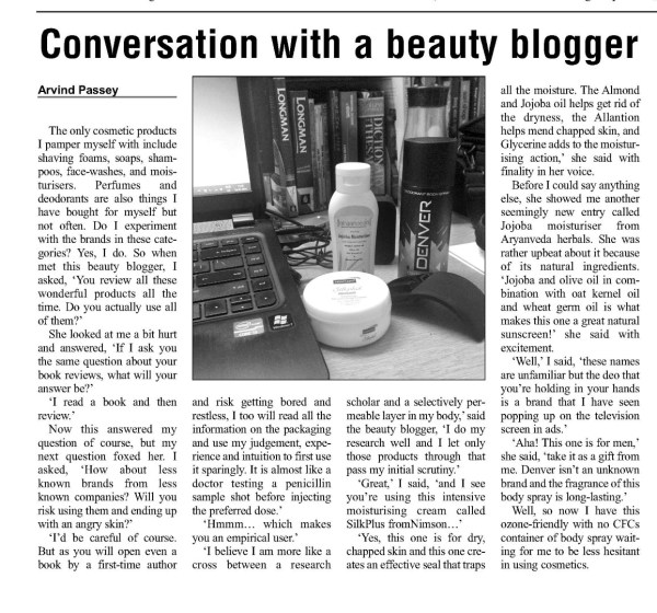 2014_01_27_The Education Post_review_conversation with a beauty blogger
