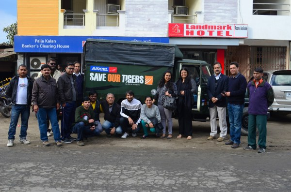#saveourtigers project where Aircel and WTI are actively involved... helped us come closer to the wild heartbeats of the nation!