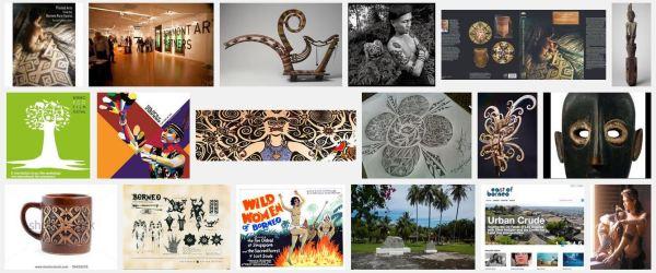Malaysia. Borneo Arts Festival. Pic credit: Google search.