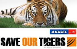 Aircel-save-tiger-campaign