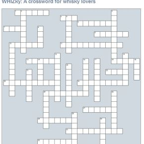 WHIZky - A crossword for whisky lovers