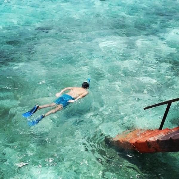 Pushkin_snorkelling