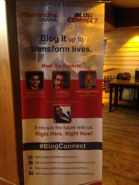 The Mahindra Comviva meet