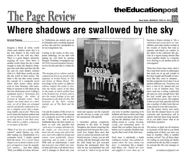 2015_02_23_The Education Post_Book Reviews_Crossed & Knotted