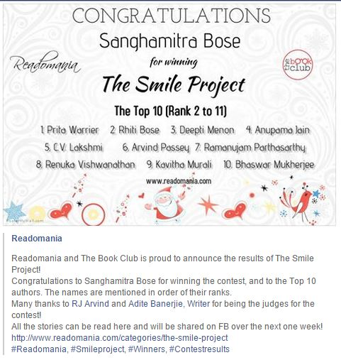 The Smile Project_Top 10 short stories