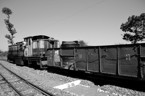 Did I tell you that the other trains carry water tanks for the villages that need water?